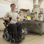 High-Tech Wheelchair Allows UCF Student to Reach Lab Equipment for First Time