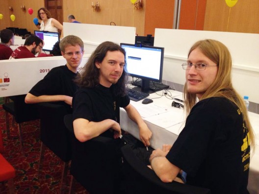 Nation's Top 10 Again: UCF Programming Team