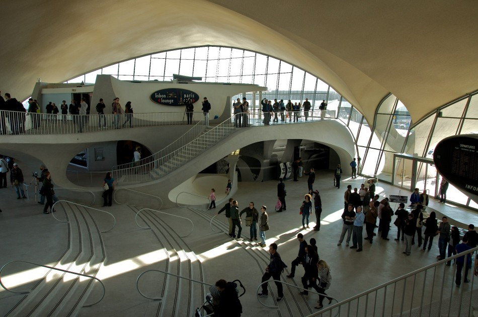TWA Flight Center Interior
