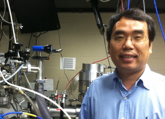 Laser Researcher Receives Grant to Partner with 5 Universities