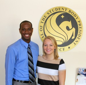 New leadership in SGA: Cait and Jarell