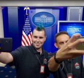 UCF's Cyberdefense Champs Tour White House, Hobnob with Security Officials