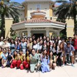 International Students Graduate Hospitality Program with New Confidence & Comrades