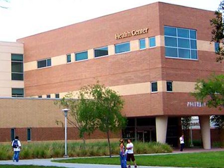 The Health Center is the premier building for student wellness