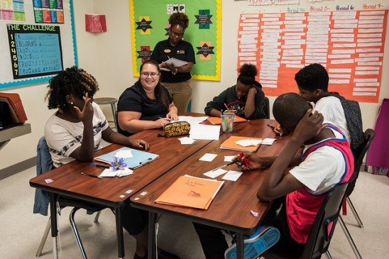 Bridge Builders Academy Brings UCF Expertise to Evans High School