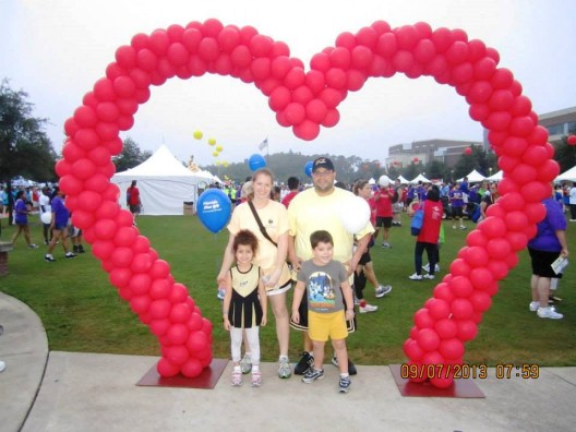 Stacey Malaret: Motivated to Charge On at Heart Walk Fundraiser