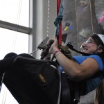 Students Who Use Wheelchairs Find Freedom on Rock-Climbing Tower