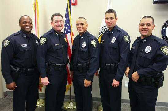 Ucf Police Department Swears In 5 New Officers Ucf News