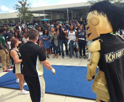 UCF, Evans High School Team Up to Show the Way to College