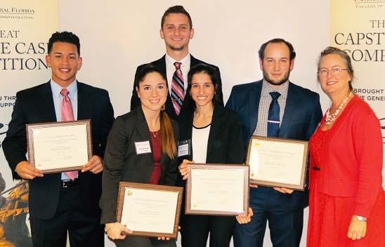 """#UCFBusiness Students Prove to Be """"Unsinkable"""" in Great Capstone Case Competition"""
