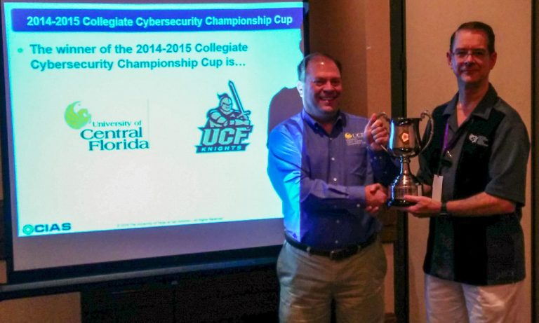 2016 Collegiate Cybersecurity Championship Cup Award