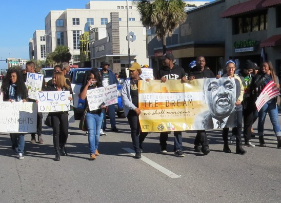 UCF Students to Honor MLK at Downtown Orlando Parade