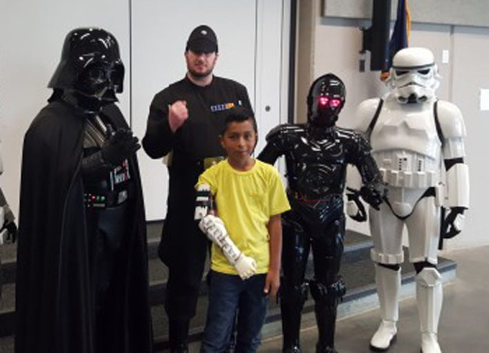 Darth Vader Helps Fulfill Child's Dream – Delivers Bionic Arm to 9-Year-Old
