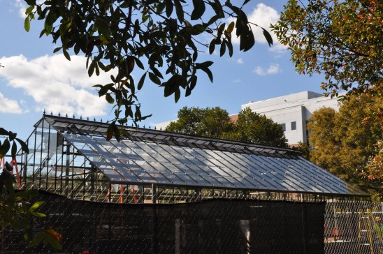 New UCF Greenhouse Takes Root