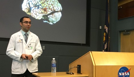 Med Student Teaches NASA About Brain, Balance