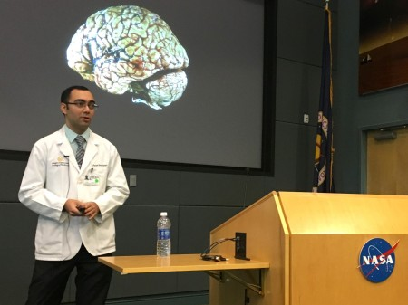 Feed image for Med Student Teaches NASA About Brain, Balance