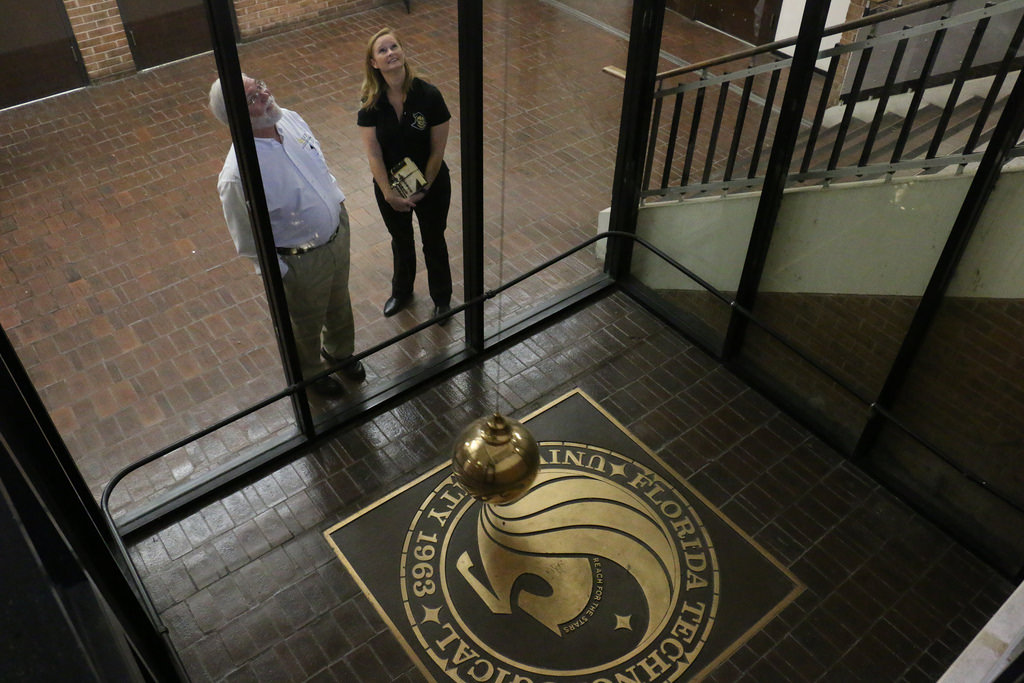 Feed image for UCF's Pendulum Swings Again, Thanks to Alumna