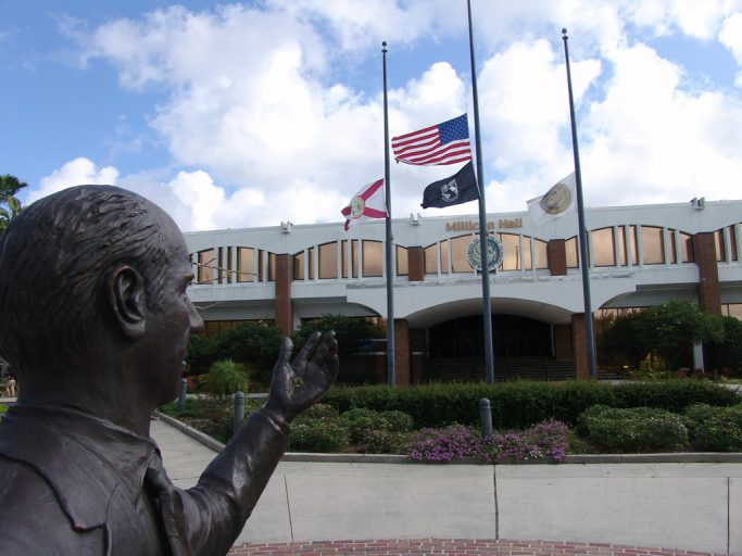 On April 6, the UCF flags will be at half-mast in honor of our Eternal Knights.
