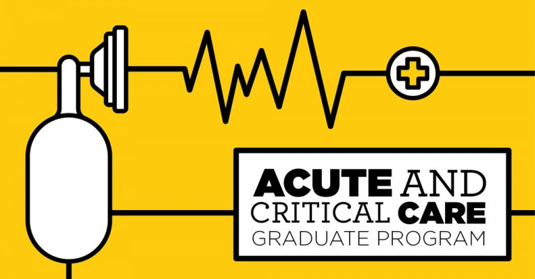 New Acute and Critical Care Nursing Program at UCF flyer