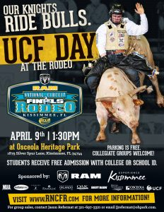 Our Knights Ride Bulls 2016 Ucf Day At The Rodeo University Of Central Florida News