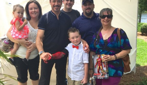 Iron Man Keeps Promise – At Movie Set Hosts Boy He Met through UCF