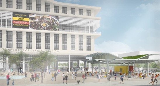 UCF Picks Team to Design and Build Downtown Campus