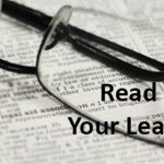 Residential Lease Advice to Students