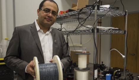 'Breaking Me Softly:' UCF Fiber Findings Featured in Nature