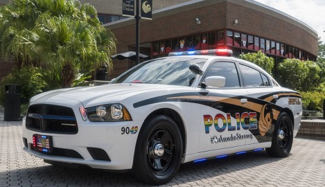 UCFPD Honors Pulse Victims With New Cruiser