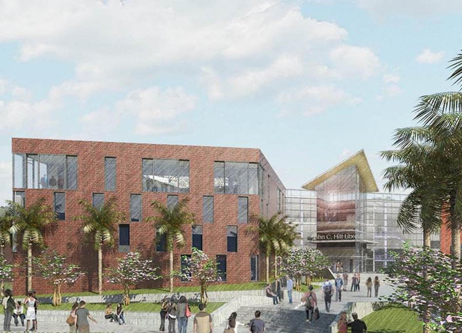 Feed image for UCF's 1st Building to be Transformed into '21st Century Library'