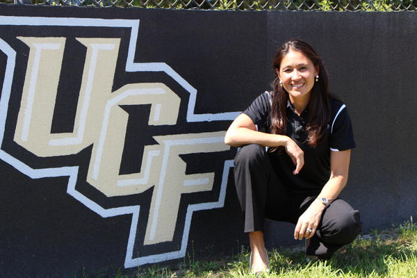 Tiffany Roberts Sahaydak, UCF women's soccer coach, won Olympic gold with Team USA in 1996.