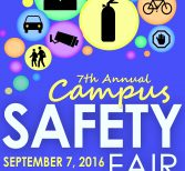 Save the Date: Safety Fair to be Held Sept. 7
