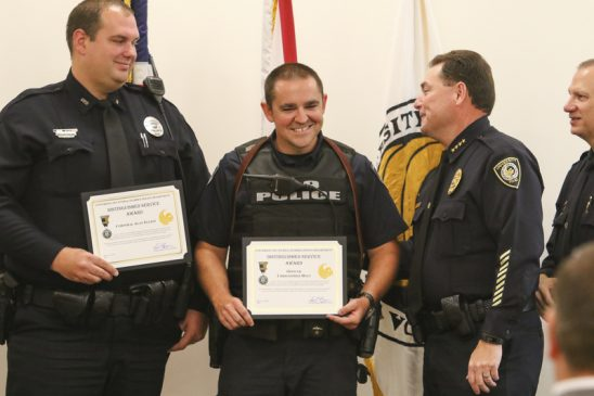 UCFPD Recognizes Officers, Staff and Community Partners