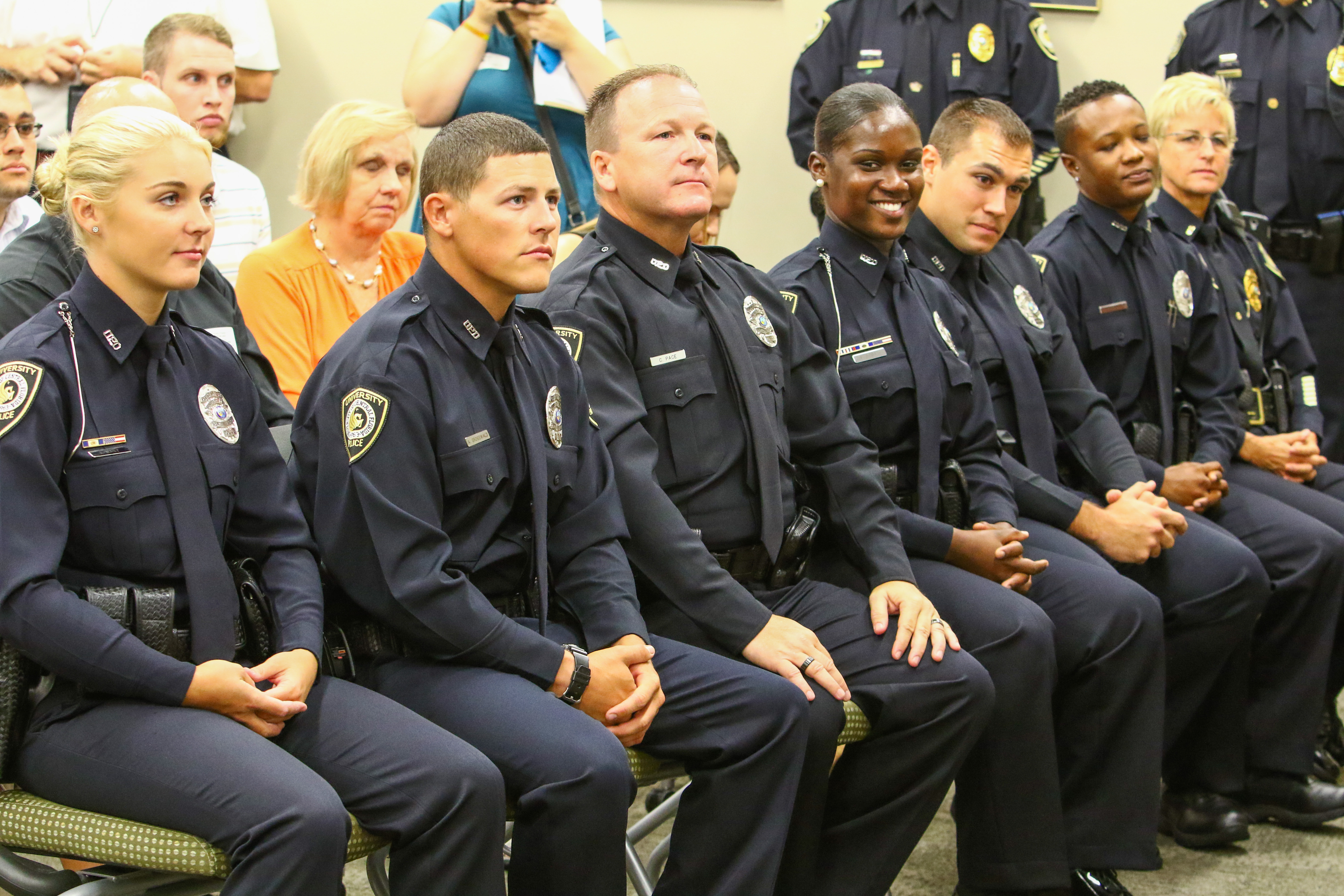 Feed image for UCFPD Swears In New Officers, Lieutenant
