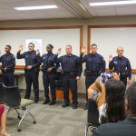 UCFPD Swears In New Officers, Lieutenant