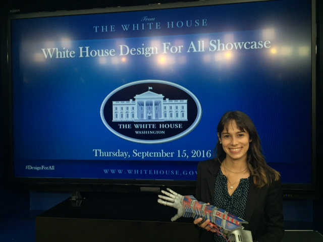 Limbitless Solutions Visits White House