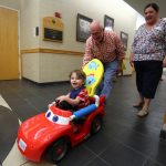 Children Who Can't Walk Race Mini-Cars at UCF Event