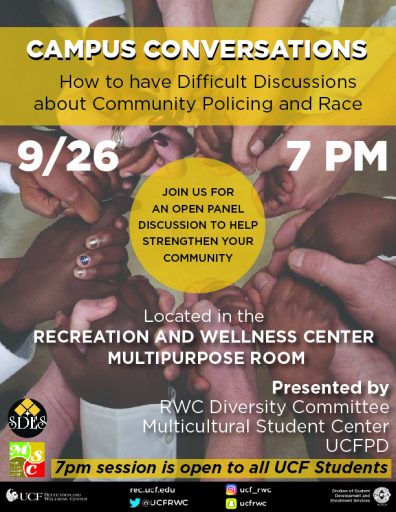 campus conversations flyer