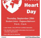 Free CPR Classes to be Offered on World Heart Day