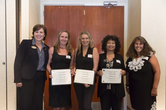 Three Women Faculty Members Honored for Their Excellent Contributions to UCF