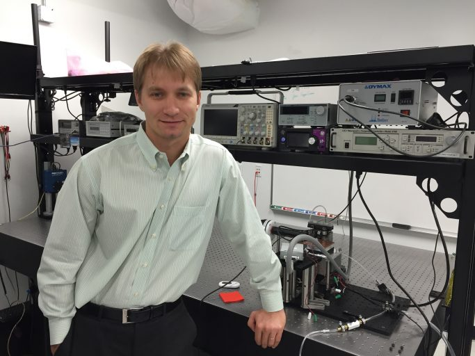 Assistant Professor Arkadiy Lyakh of UCF's NanoScience Technology Center has developed the most efficient Quantum Cascade Laser ever.