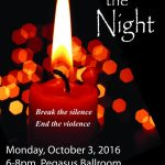 Light Up the Night to Honor Victims of Domestic Abuse