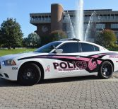 UCFPD Supports Breast Cancer Awareness with Pink Cruiser
