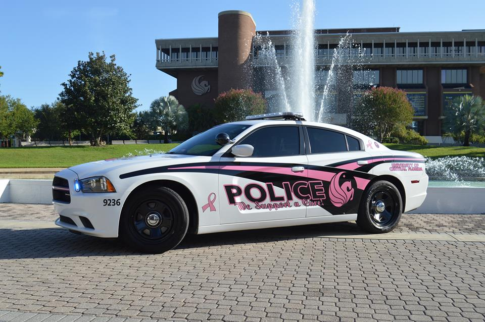 Feed image for UCFPD Supports Breast Cancer Awareness with Pink Cruiser