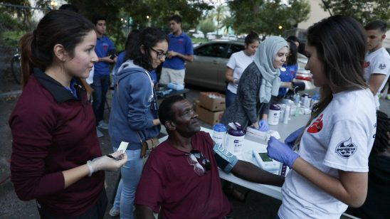 UCF Students Target Heart Health Among Orlando's Homeless