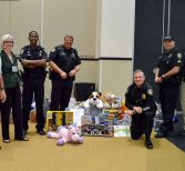 Knights Collecting Holiday Gifts for Those in Need