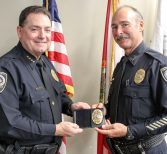 Two Longtime Police Officers Retire from UCFPD