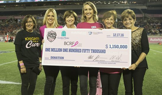 Cure Bowl 2016 Raises $1.15 Million For Breast Cancer, Including $250,000 For UCF