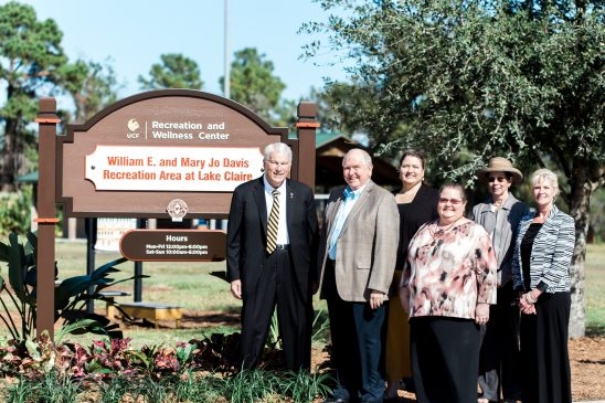Recreation Area at Lake Claire Named in Honor of Founding Family