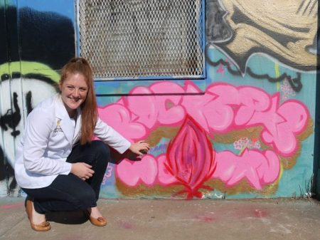 Feed image for Med Student Embraces Art To Advocate For Women's Health